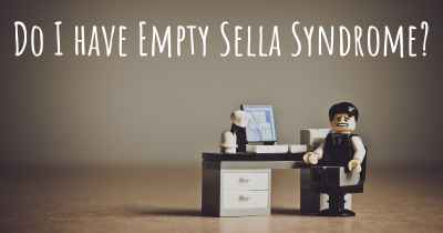 Do I have Empty Sella Syndrome?