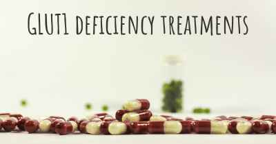 GLUT1 deficiency treatments