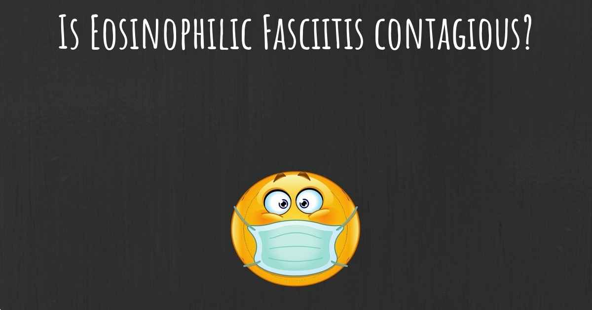 What Is The Life Expectancy Of Someone With Eosinophilic Fasciitis