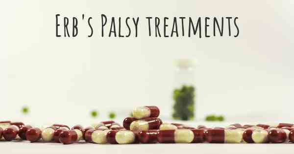 Erb's Palsy treatments