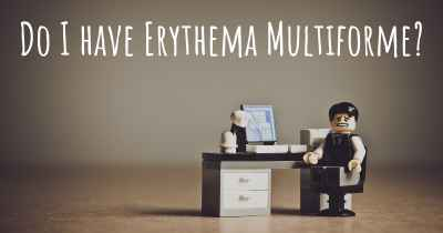 Do I have Erythema Multiforme?