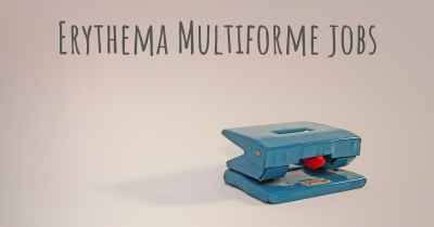 Erythema Multiforme jobs