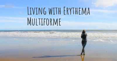 Living with Erythema Multiforme