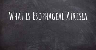 What is Esophageal Atresia