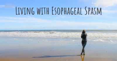 Living with Esophageal Spasm