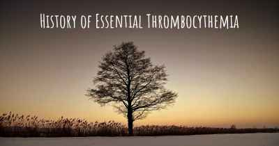 History of Essential Thrombocythemia