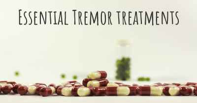 Essential Tremor treatments