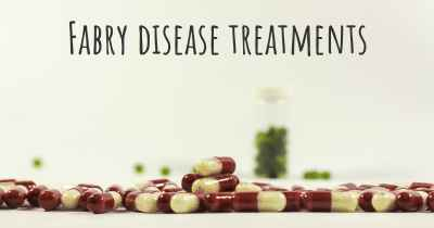 Fabry disease treatments