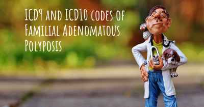 ICD9 and ICD10 codes of Familial Adenomatous Polyposis
