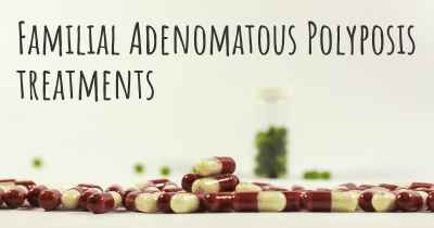 Familial Adenomatous Polyposis treatments