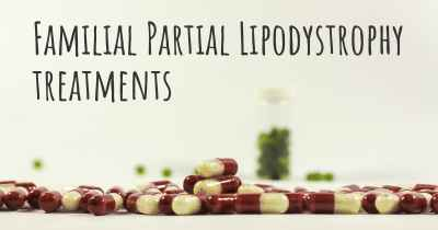 Familial Partial Lipodystrophy treatments