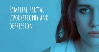 Familial Partial Lipodystrophy and depression