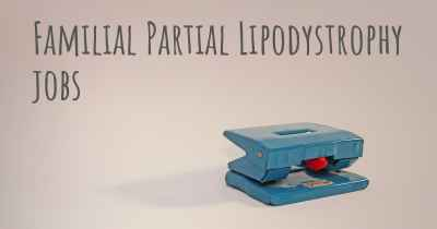 Familial Partial Lipodystrophy jobs