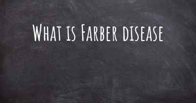 What is Farber disease