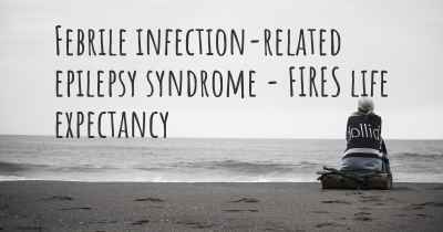 Febrile infection-related epilepsy syndrome - FIRES life expectancy