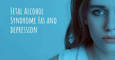Fetal Alcohol Syndrome Fas and depression