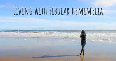 Living with Fibular hemimelia