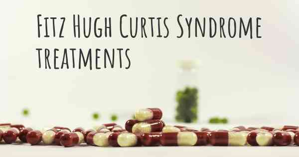 Fitz Hugh Curtis Syndrome treatments