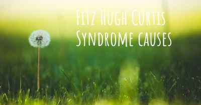 Fitz Hugh Curtis Syndrome causes