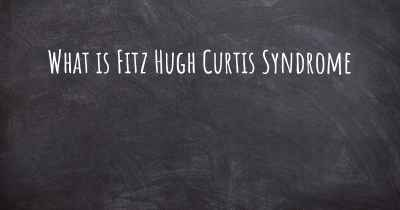 What is Fitz Hugh Curtis Syndrome