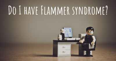 Do I have Flammer syndrome?