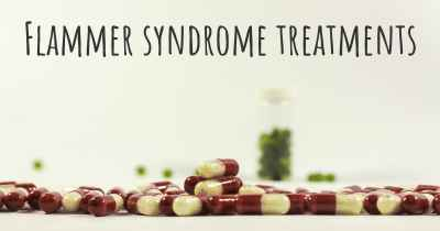 Flammer syndrome treatments