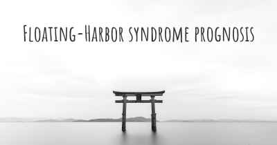 Floating-Harbor syndrome prognosis