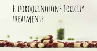 Fluoroquinolone Toxicity treatments