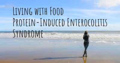 Living with Food Protein-Induced Enterocolitis Syndrome