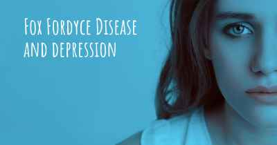 Fox Fordyce Disease and depression