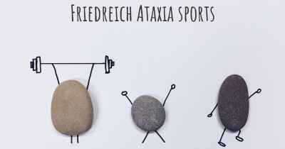 Friedreich Ataxia sports