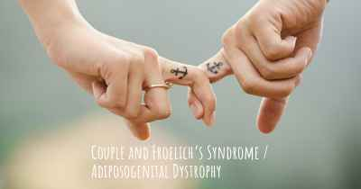 Couple and Froelich's Syndrome / Adiposogenital Dystrophy
