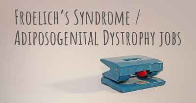 Froelich's Syndrome / Adiposogenital Dystrophy jobs