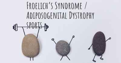 Froelich's Syndrome / Adiposogenital Dystrophy sports