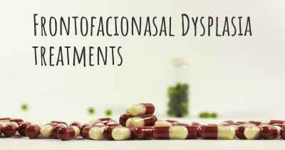 Frontofacionasal Dysplasia treatments