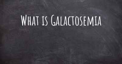 What is Galactosemia