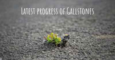 Latest progress of Gallstones