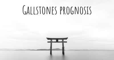 Gallstones prognosis