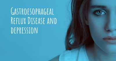 Gastroesophageal Reflux Disease and depression