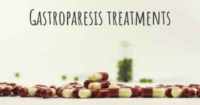 Gastroparesis treatments