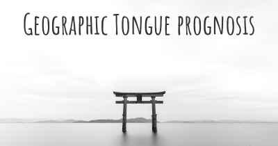 Geographic Tongue prognosis
