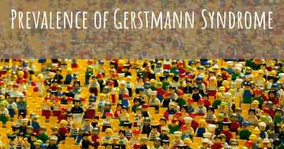 Prevalence of Gerstmann Syndrome