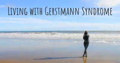 Living with Gerstmann Syndrome