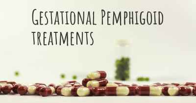 Gestational Pemphigoid treatments