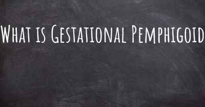 What is Gestational Pemphigoid