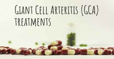 Giant Cell Arteritis (GCA) treatments