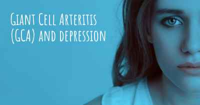 Giant Cell Arteritis (GCA) and depression