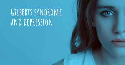 Gilberts syndrome and depression