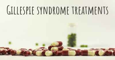 Gillespie syndrome treatments