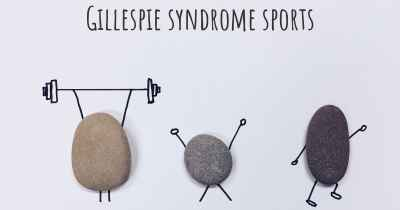 Gillespie syndrome sports